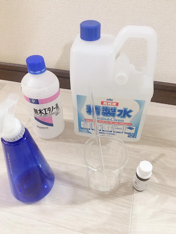 水 エタノール 精製